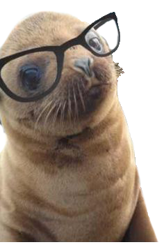 Animals Wearing Glasses messages sticker-5
