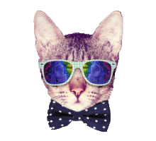 Animals Wearing Glasses messages sticker-10