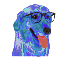 Animals Wearing Glasses messages sticker-9