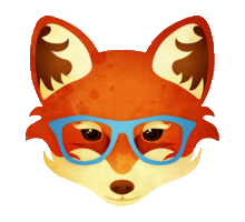 Animals Wearing Glasses messages sticker-0