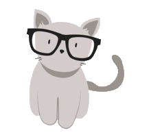 Animals Wearing Glasses messages sticker-6