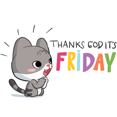 Meow the Tabby Cat messages sticker-8
