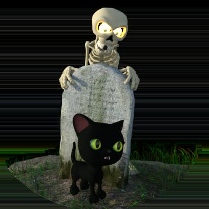 Halloween Stickers - Spooky Fun Sticker Pack messages sticker-4