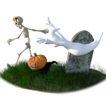 Halloween Stickers - Spooky Fun Sticker Pack messages sticker-8