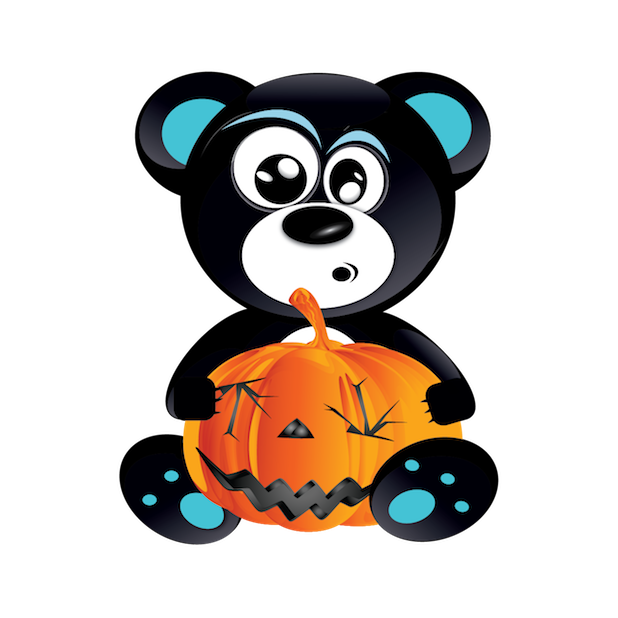 Halloween & Baddy Bear messages sticker-10