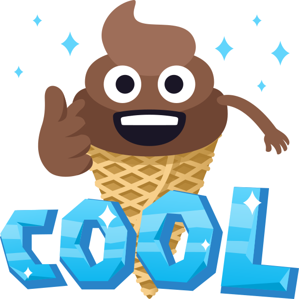 Happy Poo: Stickers by EmojiOne messages sticker-6
