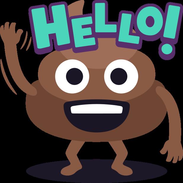 Happy Poo: Stickers by EmojiOne messages sticker-11