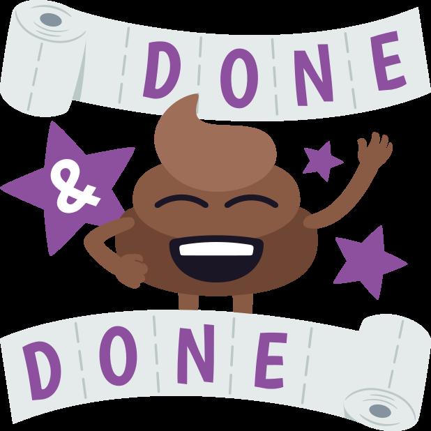 Happy Poo: Stickers by EmojiOne messages sticker-7