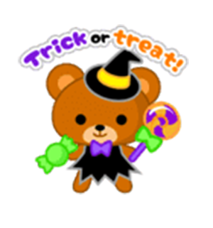 Beauty Halloween messages sticker-11