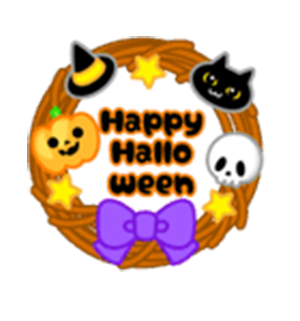 Beauty Halloween messages sticker-8
