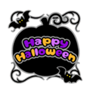 Beauty Halloween messages sticker-3