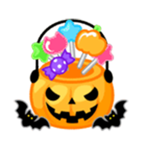 Beauty Halloween messages sticker-4
