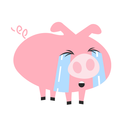 Pigmoji messages sticker-8