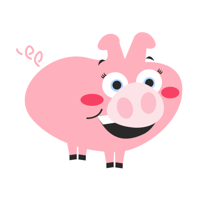Pigmoji messages sticker-2
