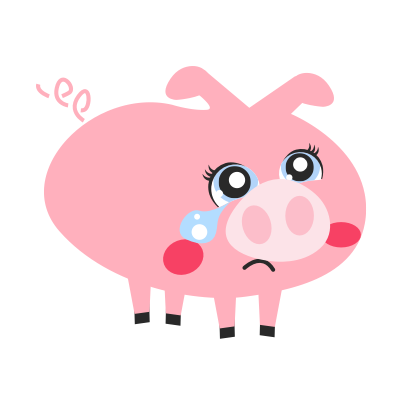 Pigmoji messages sticker-7