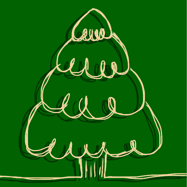 Christmas Tree Craft GIF stickers messages sticker-9