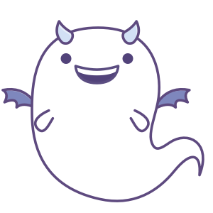 Fattie's Ghost Disguise messages sticker-0