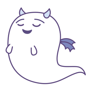 Fattie's Ghost Disguise messages sticker-5