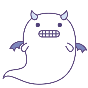 Fattie's Ghost Disguise messages sticker-3
