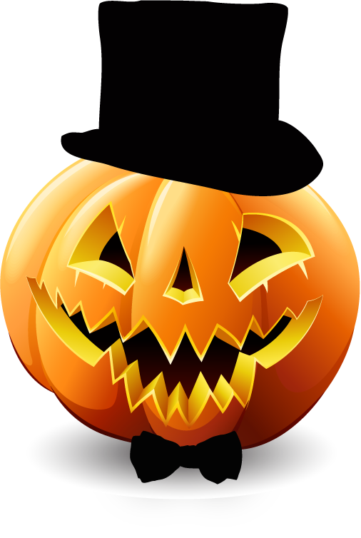 Happy Halloween Pumpkin Sticker Pack 01 messages sticker-1