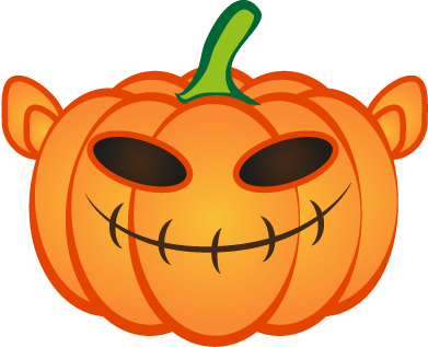 Happy Halloween Pumpkin Sticker Pack 01 messages sticker-5