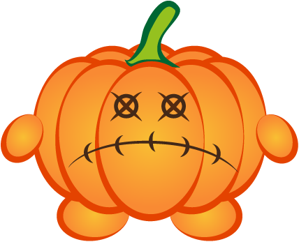 Happy Halloween Pumpkin Sticker Pack 01 messages sticker-0