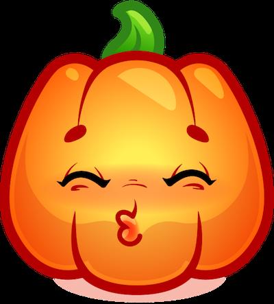 Happy Halloween Pumpkin Sticker Pack 02 messages sticker-4