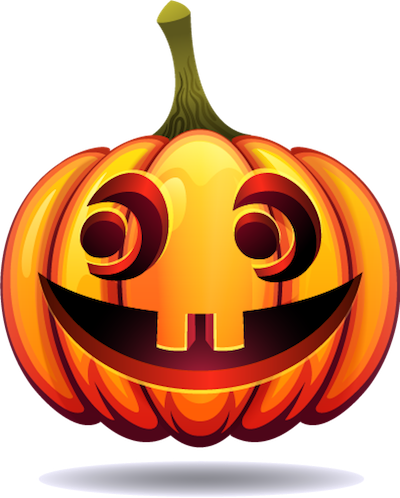 Happy Halloween Pumpkin Sticker Pack 03 messages sticker-8