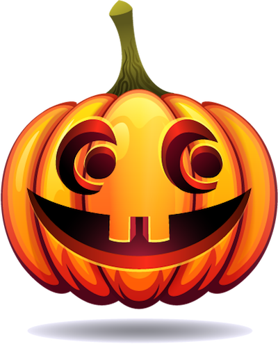 Happy Halloween Pumpkin Sticker Pack 03 messages sticker-11