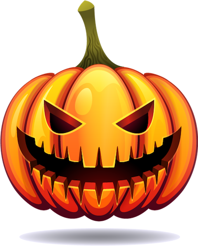 Happy Halloween Pumpkin Sticker Pack 03 messages sticker-9