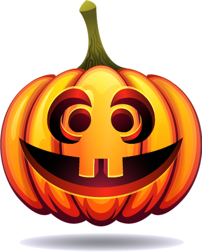 Happy Halloween Pumpkin Sticker Pack 03 messages sticker-3