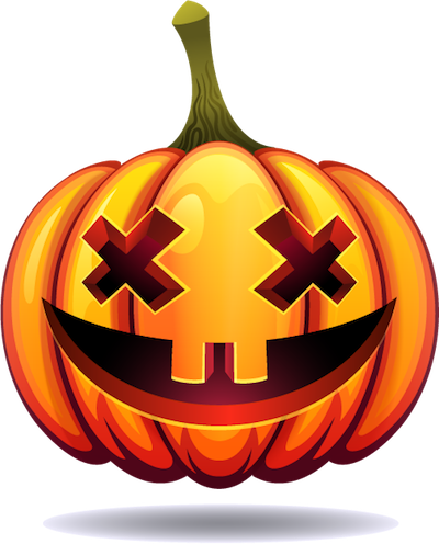 Happy Halloween Pumpkin Sticker Pack 03 messages sticker-7