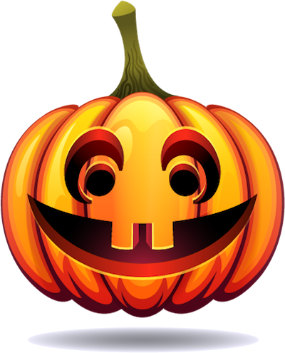 Happy Halloween Pumpkin Sticker Pack 03 messages sticker-6