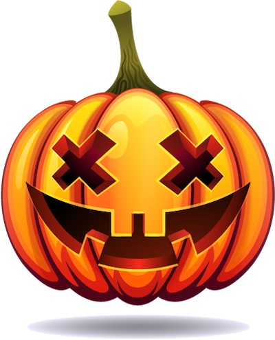 Happy Halloween Pumpkin Sticker Pack 03 messages sticker-1