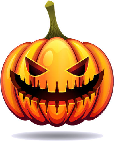 Happy Halloween Pumpkin Sticker Pack 03 messages sticker-2