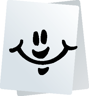 Paper Smiley Stickers for iMessage messages sticker-5