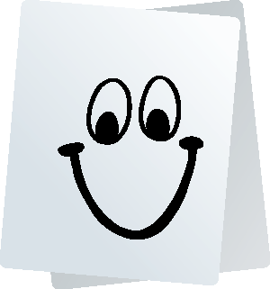 Paper Smiley Stickers for iMessage messages sticker-4