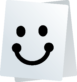 Paper Smiley Stickers for iMessage messages sticker-0