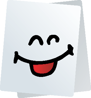 Paper Smiley Stickers for iMessage messages sticker-2
