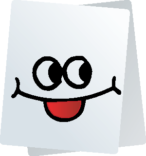 Paper Smiley Stickers for iMessage messages sticker-1