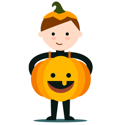 Halloween sticker pack messages sticker-6