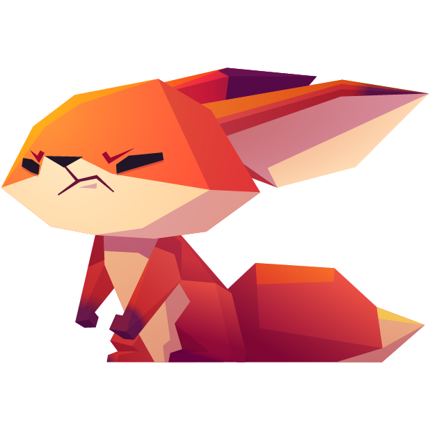 The Little Fox messages sticker-7