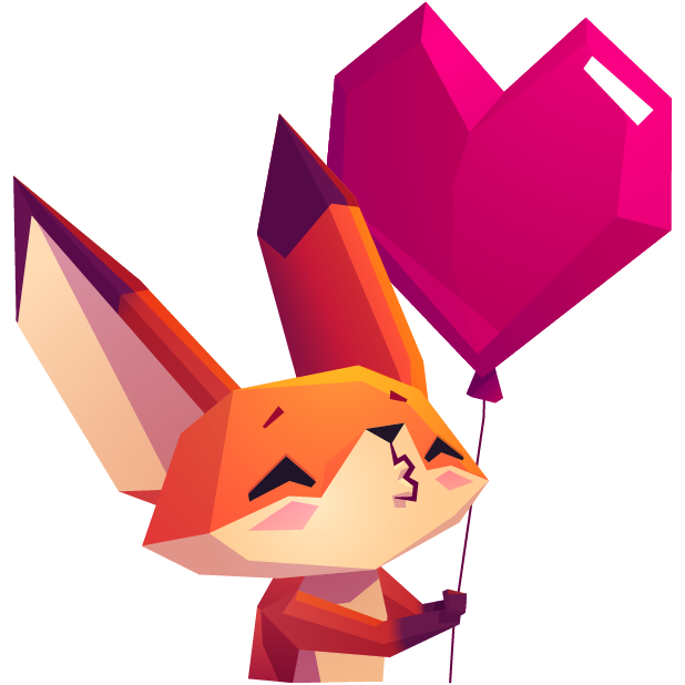 The Little Fox messages sticker-11