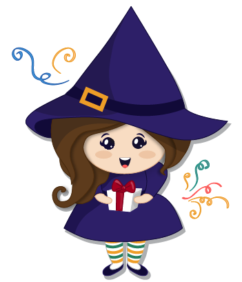 Halloween Witch messages sticker-1