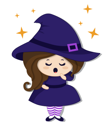 Halloween Witch messages sticker-7