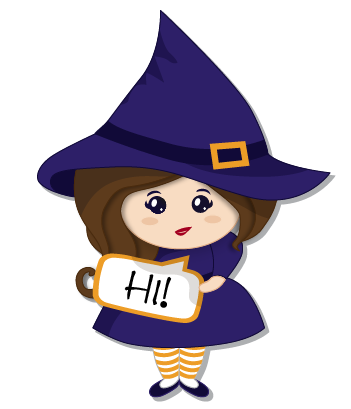Halloween Witch messages sticker-2