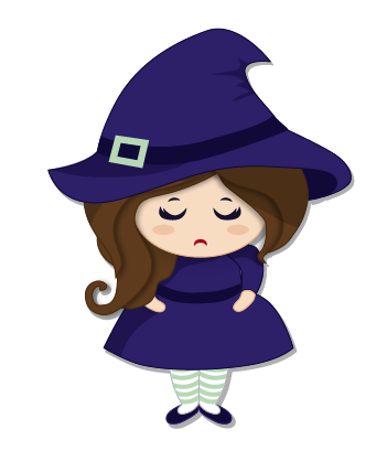 Halloween Witch messages sticker-0