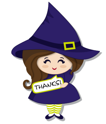 Halloween Witch messages sticker-4