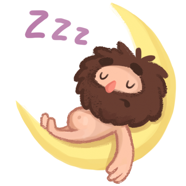 Space Caveman Stickers messages sticker-4