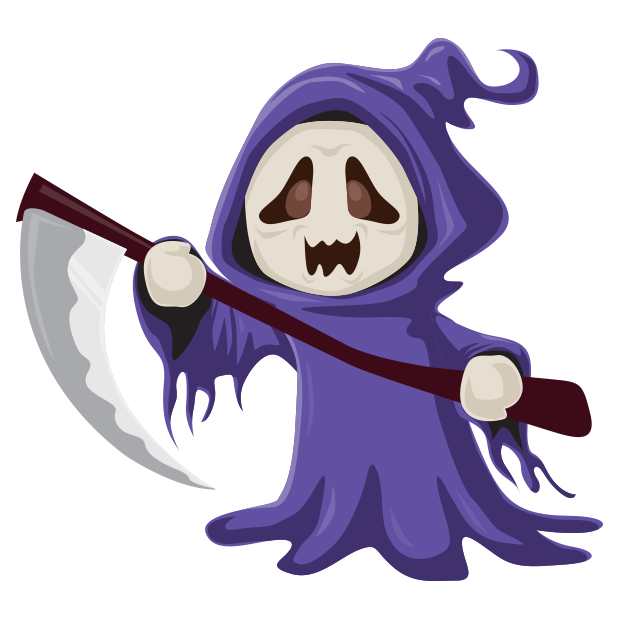 Spooky Wooky Emoji - Stickers messages sticker-8
